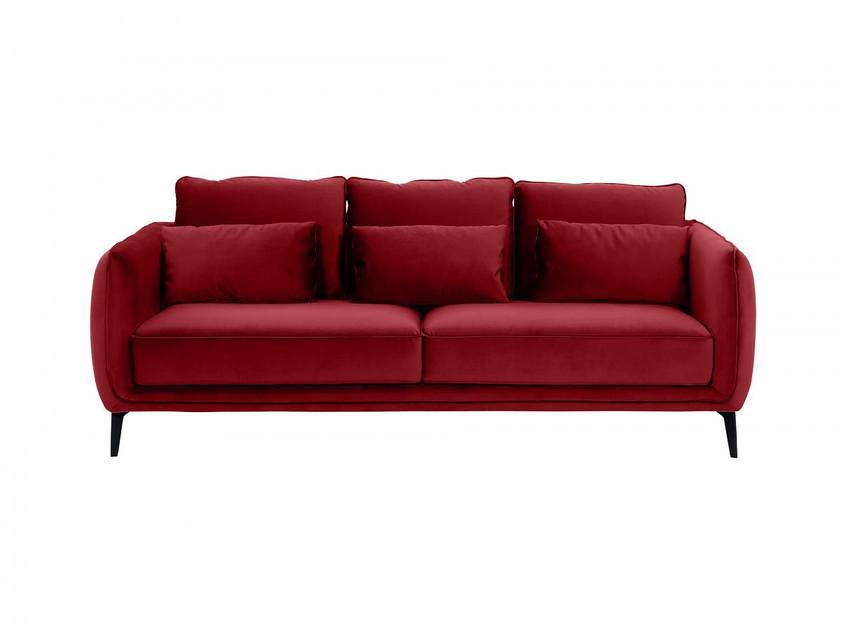 Ogogo диван amsterdam красный 109696/4