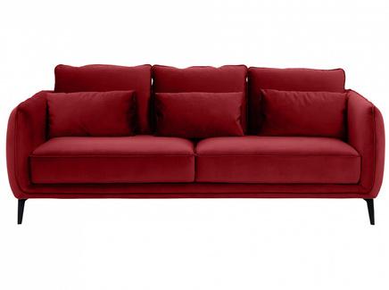 Диван amsterdam (ogogo) красный 206x85x95 см.