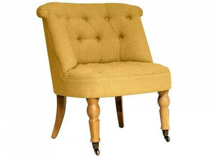 Кресло visconte (ogogo) желтый 70x76x65 см.