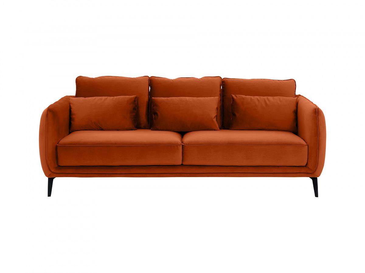 Ogogo диван amsterdam оранжевый 109781/3