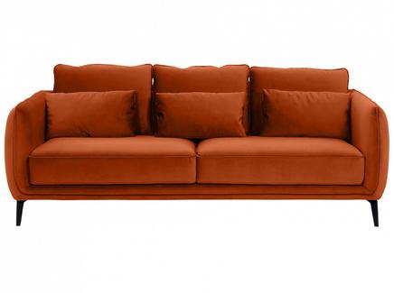 Диван amsterdam (ogogo) оранжевый 206x85x95 см.