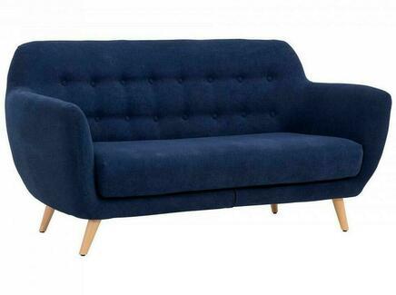 Диван loa (ogogo) синий 175x85x80 см.