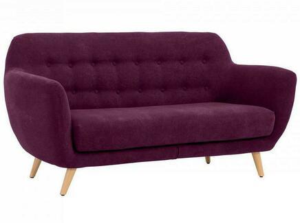 Диван loa (ogogo) фиолетовый 175x85x80 см.