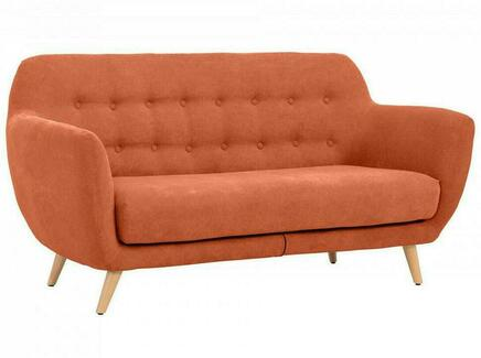 Диван loa (ogogo) оранжевый 175x85x80 см.