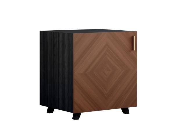 Тумба desmond (metner) коричневый 52x57x45 см.