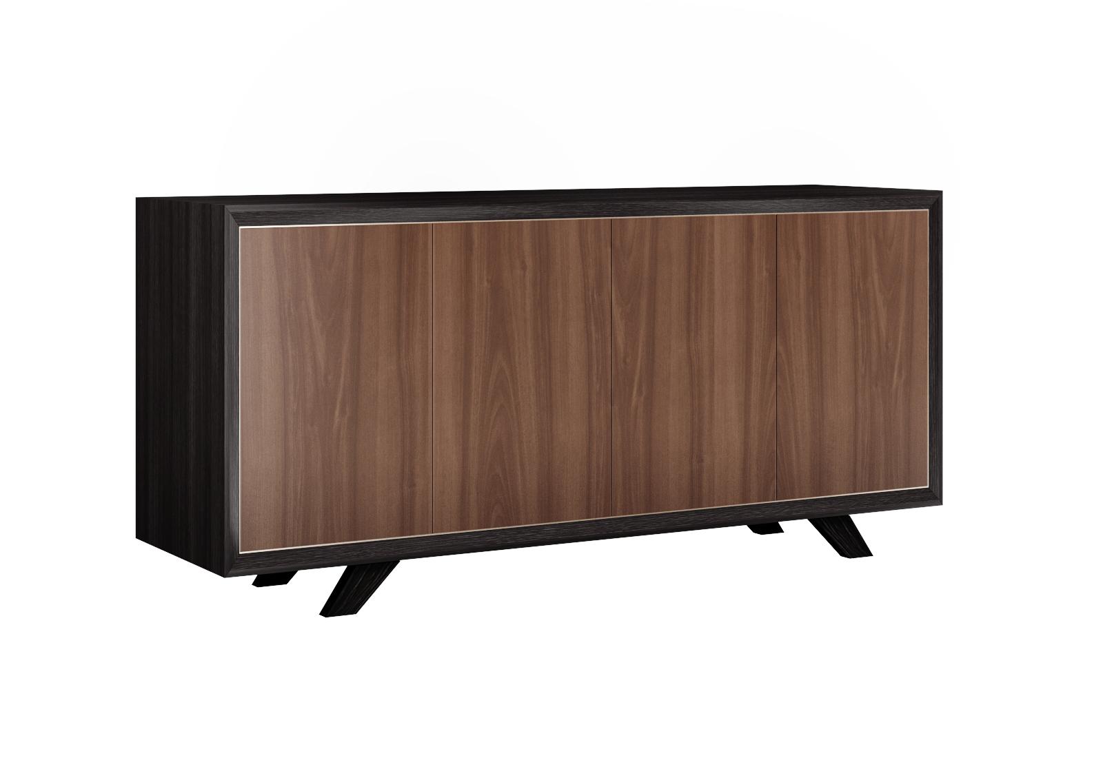 Комод desmond (metner) коричневый 185x50x85 см.