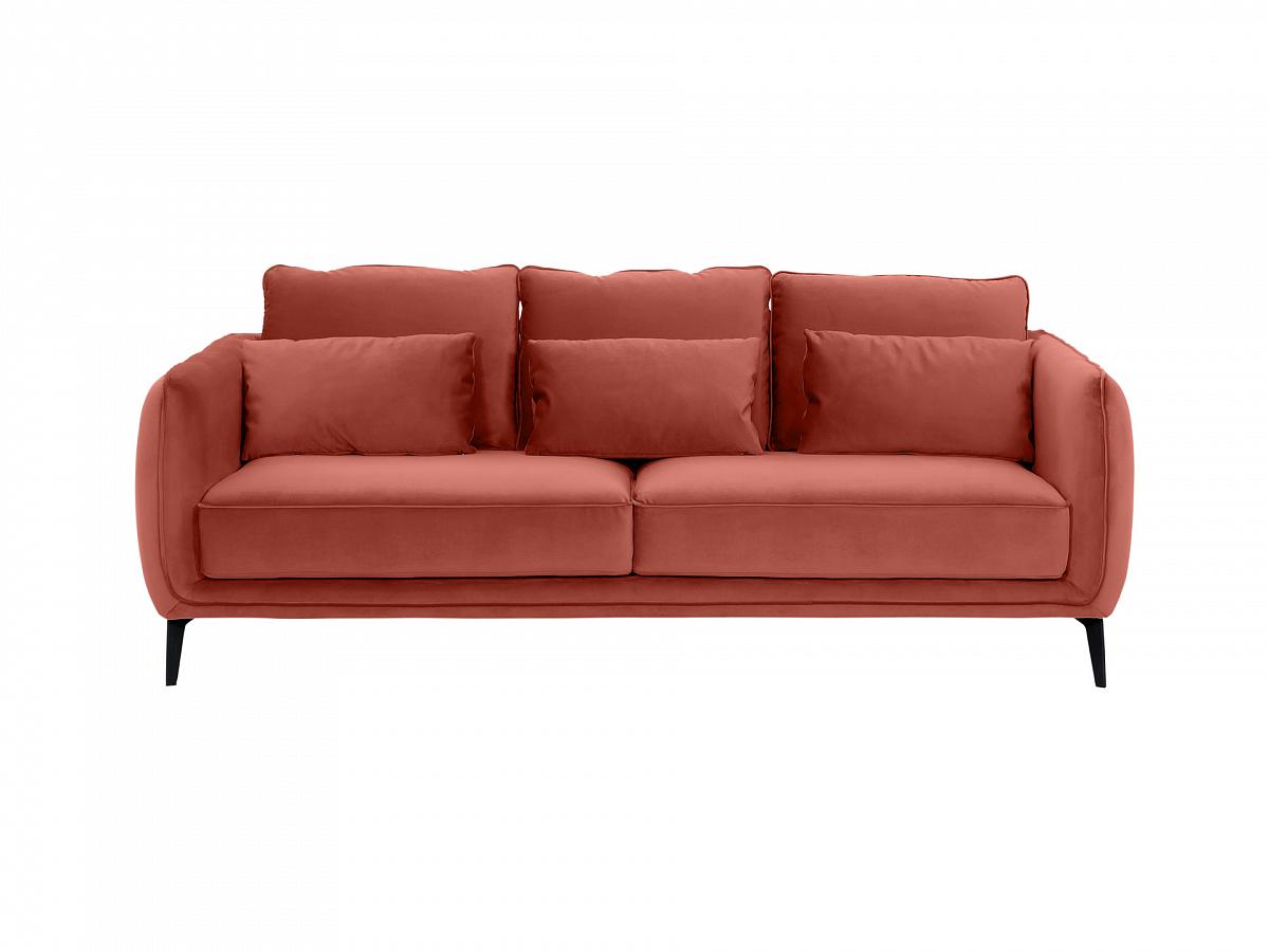 Ogogo диван amsterdam коричневый 109924/3