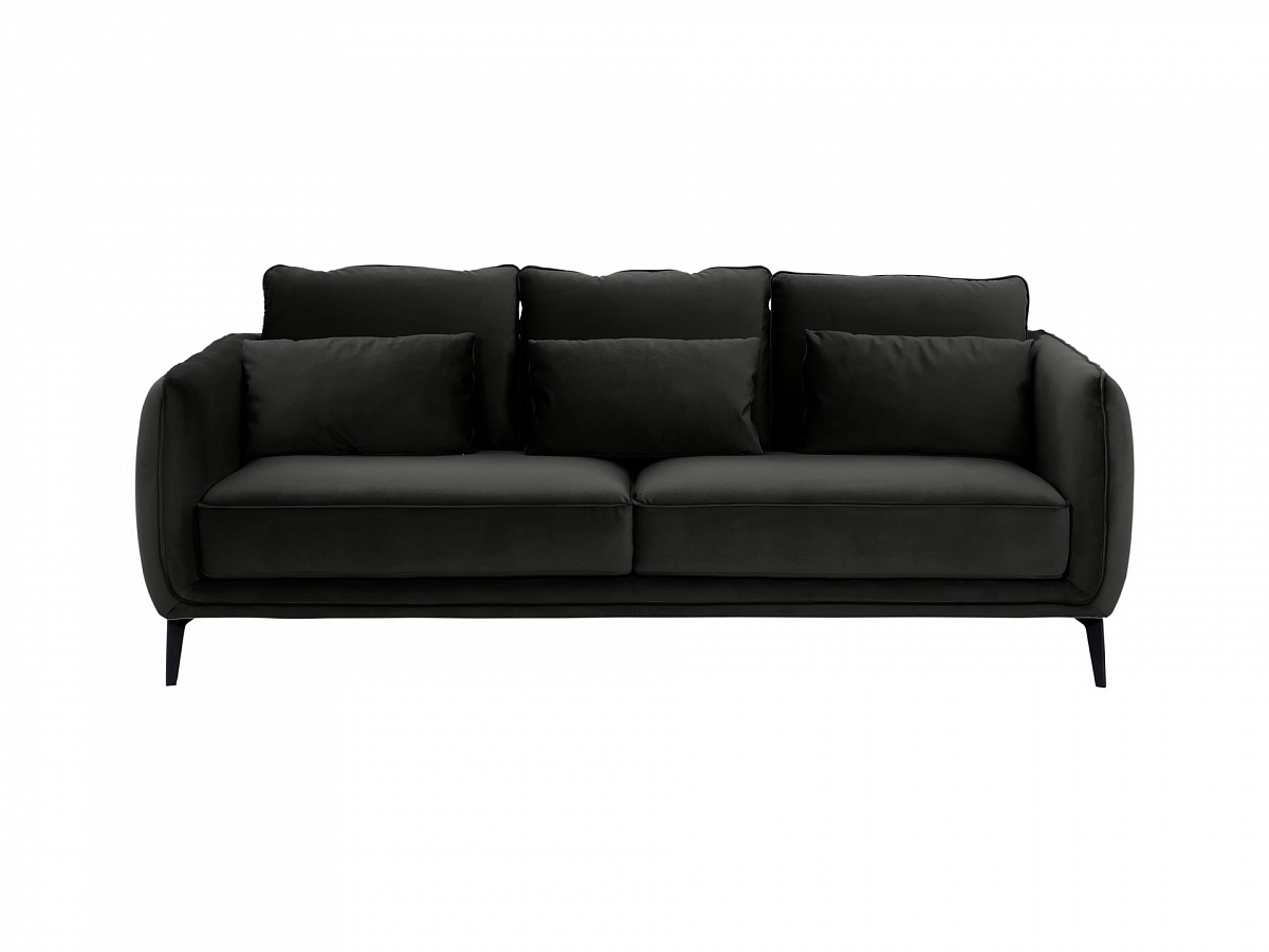 Ogogo диван amsterdam черный 109927/6