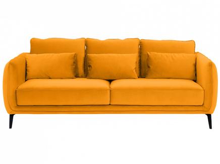 Диван amsterdam (ogogo) желтый 206x85x95 см.