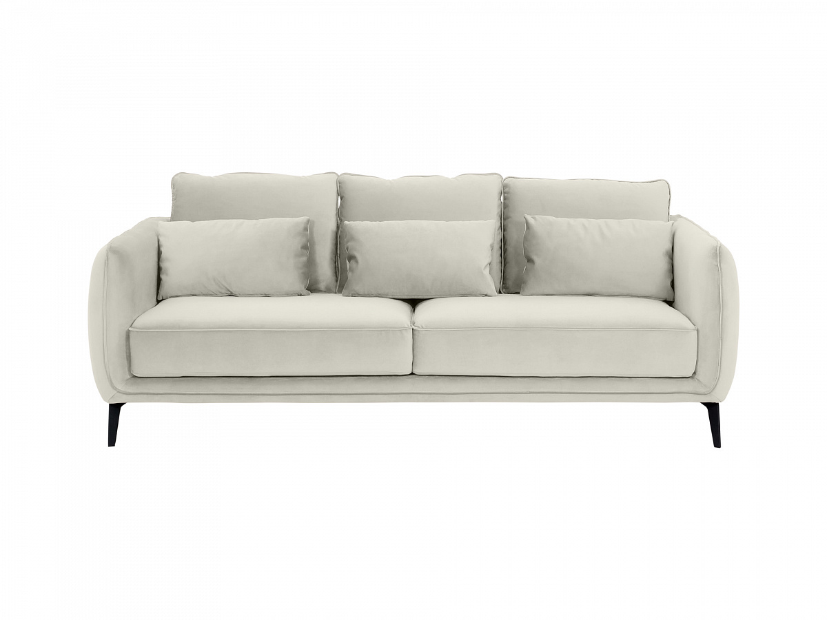 Ogogo диван amsterdam серый 109930/7
