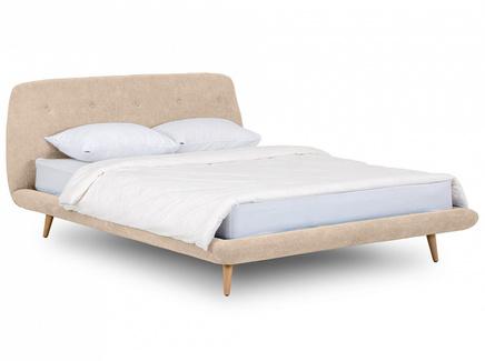 Кровать loa (ogogo) бежевый 178x95x223 см.