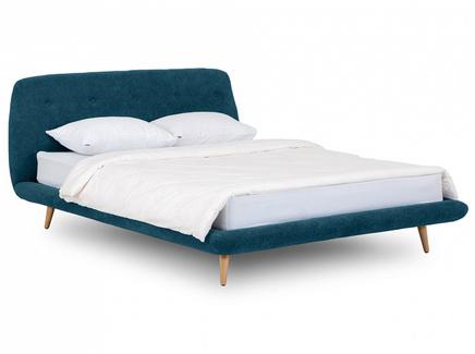 Кровать loa (ogogo) синий 178x95x223 см.