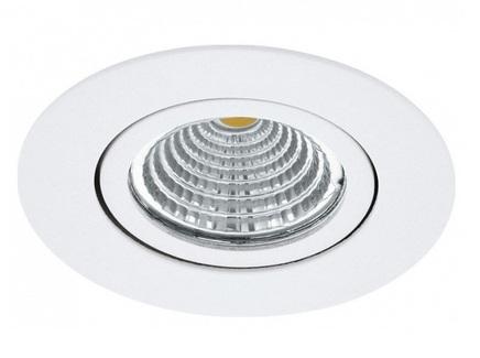 Встраиваемый светильник saliceto (eglo) белый