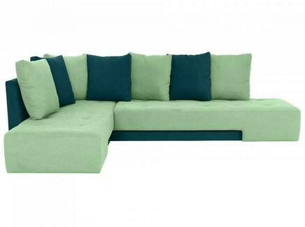 Диван london (ogogo) зеленый 296x76x215 см.