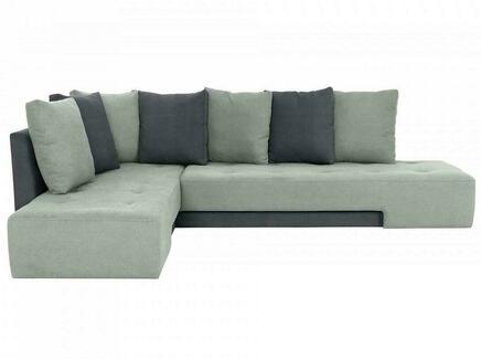 Диван london (ogogo) серый 296x76x215 см.