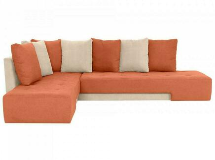 Диван london (ogogo) оранжевый 296x76x215 см.