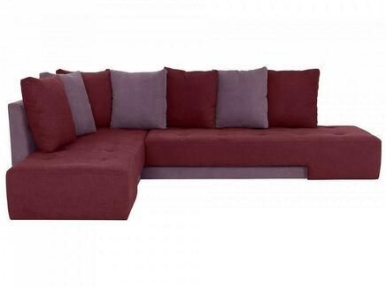 Диван london (ogogo) красный 296x76x215 см.