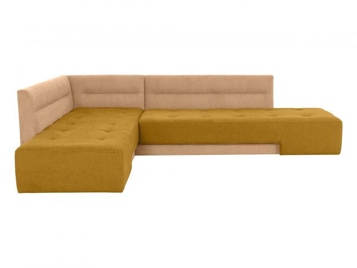 Диван london (ogogo) желтый 296x76x215 см.