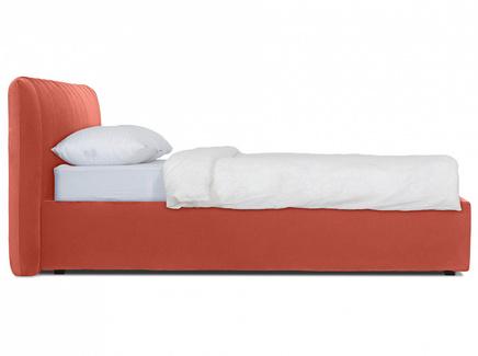 Кровать queen anastasia lux (ogogo) красный 187x95x226 см.
