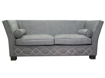Диван volte (mak-interior) серый 227x85x96 см.