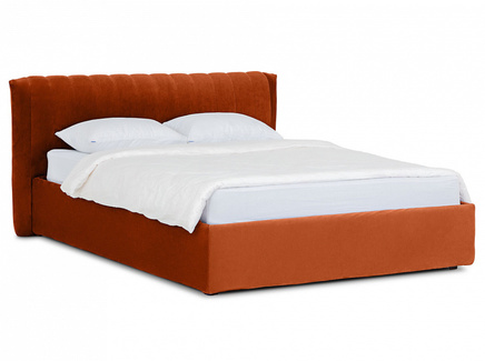 Кровать queen anastasia lux (ogogo) оранжевый 187x95x226 см.