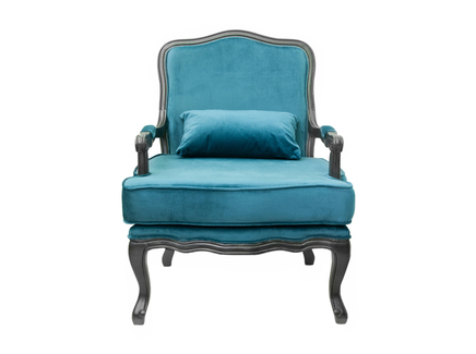 Кресло nitro (mak-interior) голубой 69x95x68 см.