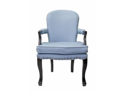 Кресло anver (mak-interior) голубой 62x96x65 см.
