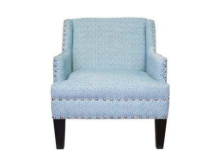 Кресло mart (mak-interior) голубой 73x86x83 см.