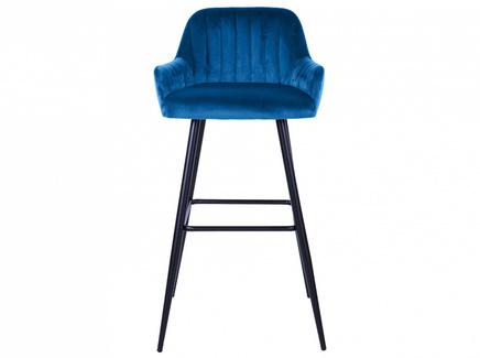 Стул барный lexi (ogogo) синий 50x99x47 см.