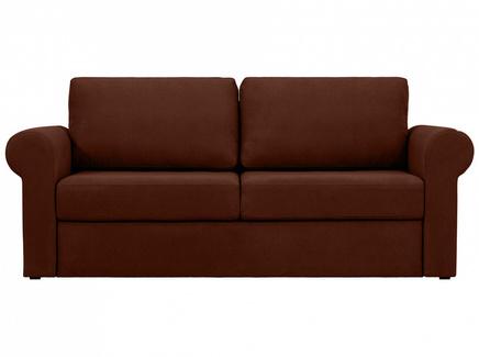Диван peterhof (ogogo) коричневый 203x88x96 см.