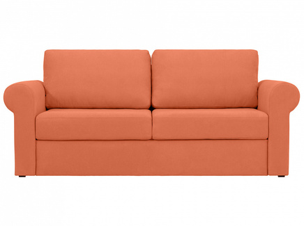 Диван peterhof (ogogo) оранжевый 203x88x96 см.