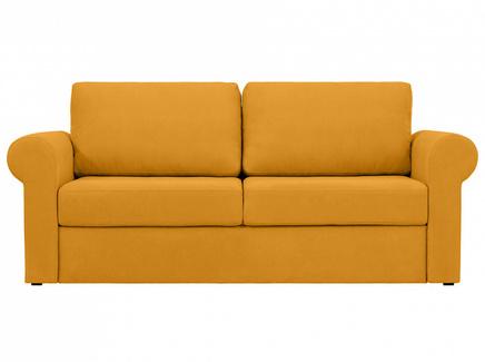 Диван peterhof (ogogo) желтый 203x88x96 см.