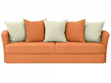 Диван california (ogogo) оранжевый 242x72x111 см.