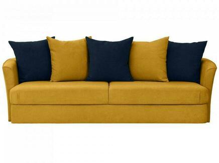 Диван california (ogogo) желтый 242x72x111 см.