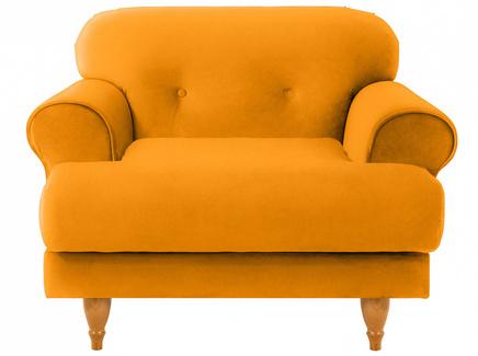 Кресло italia (ogogo) желтый 98x79x98 см.