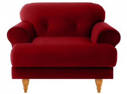 Кресло italia (ogogo) красный 98x79x98 см.