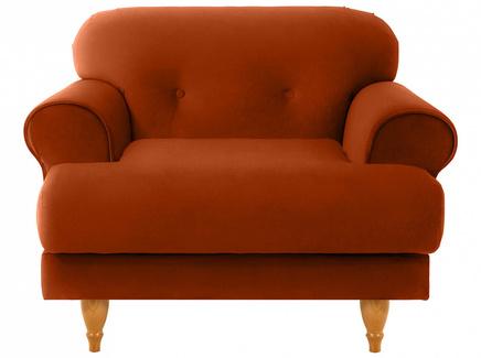 Кресло italia (ogogo) коричневый 98x79x98 см.