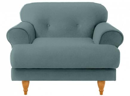 Кресло italia (ogogo) голубой 98x79x98 см.