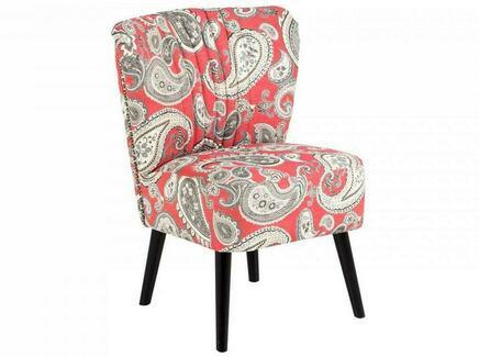 Кресло barbara (ogogo) розовый 59x77x62 см.