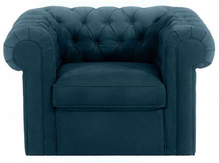 Кресло chesterfield (ogogo) зеленый 115x73x105 см.