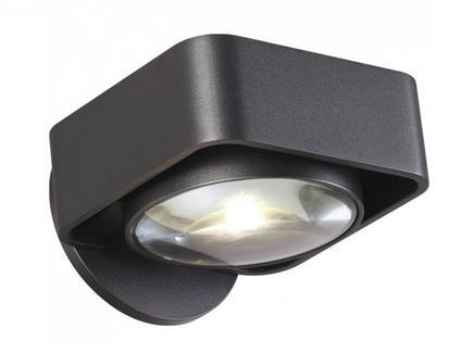 Бра paco (odeon light) черный
