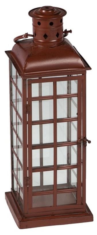 Подсвечник Old LondonПодсвечники<br>Подсвечник из металла в форме уличного фонаря для интерьеров в английском и кантри стилях. Удобная форма каркаса позволит подвесить его или разместить на горизонтальной поверхности.<br><br>Отделка: кованый металл; стекло<br><br>Material: Металл<br>Ширина см: 19<br>Высота см: 65<br>Глубина см: 19