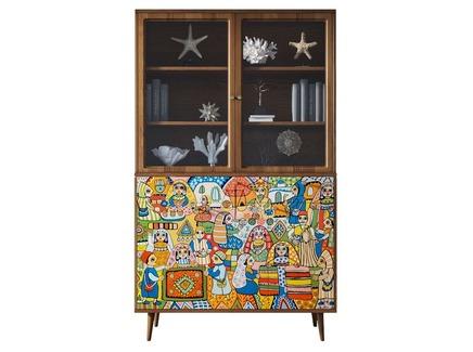 Буфет berber (etg-home) мультиколор 120x200x45 см.