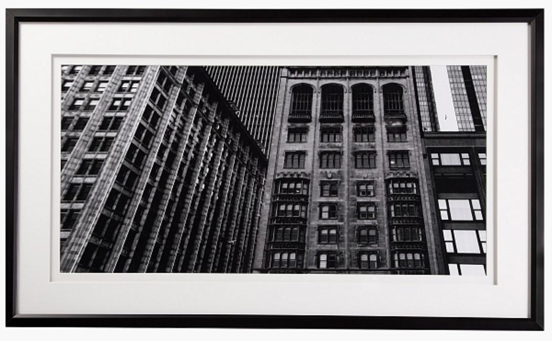 Постер BuildingПостеры<br>Настенный постер с изображением американских небоскребов отлично впишется в интерьер современного мегаполиса. Черно-белые краски добавят антураж винтажной романтики.<br><br>Material: Бумага<br>Width см: 124<br>Depth см: 3<br>Height см: 74