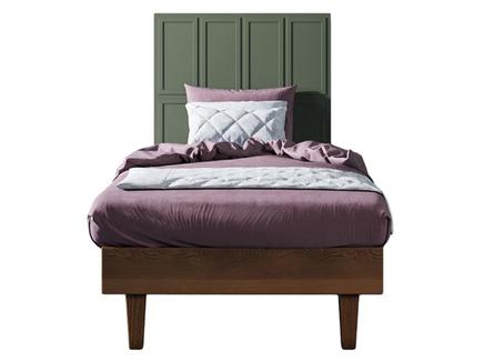 Кровать andersen (etg-home) зеленый 120x120x190 см.