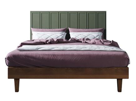 Кровать andersen (etg-home) зеленый 160x120x200 см.