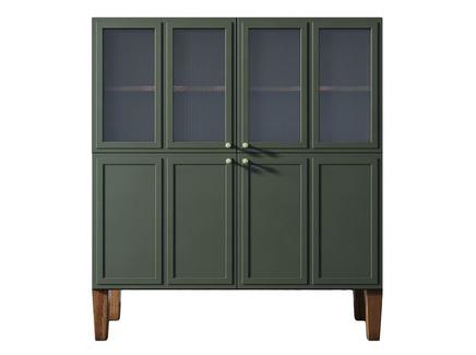 Буфет andersen (etg-home) зеленый 110x120x40 см.