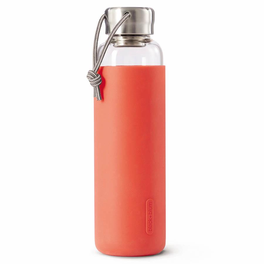 Бутылка для воды (black+blum) красный 6x23x6 см..