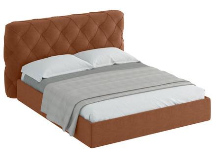 Кровать ember (ogogo) коричневый 189x113x237 см.