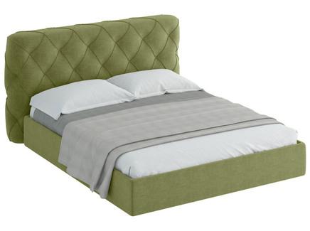 Кровать ember (ogogo) зеленый 189x113x237 см.